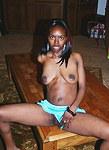 Dirty ebony slut webcam seduction
