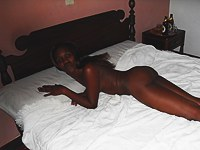 Nubian babe gives me blowjob