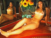 Latina amateur is proud of her nude body