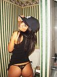 Latina slut makes a horny wazoo web show