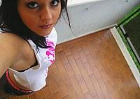 Very hot Latina teen selfshot photos