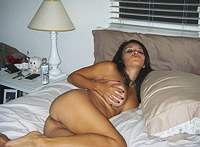 Latina with huge boobs gives me BJ
