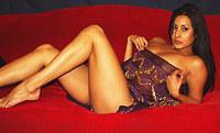 Amateur photoshoot of sensual Latina