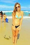 Bikini babes show sexy Latina bodies