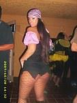 Latina girlfriend shows her juicy wazoo