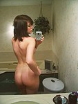 Taking hot selfshots all naked