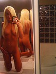 Filming the erotic strip on selfshots