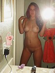 Selfshot photos of teens with curves
