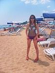 Lots of beach bikini teens
