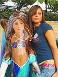 Teen bodies demonstration on amateur cam