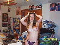 Sexy topless teens mix