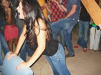 Selfshot teens provide nude performance