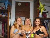 Teen party girls and beach voyeurs