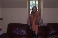 Hot teenage gets facial on the cam