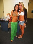 Hot teen girlfriends canned public party