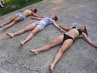 Lewd teens entertain as recorded