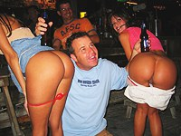 Horny festival of nice teenie butts