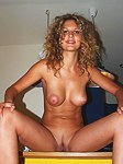 My new hot curly girlfriend