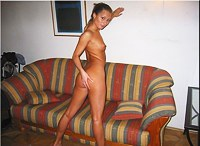Nude on my favorite couch for you