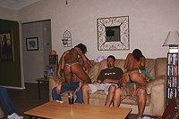 Teen private sex orgy in apartment