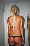 I just got these hot blonde's photos