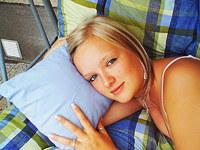 Stunning blonde teen girl nude shots