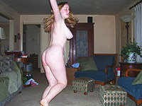 Pics of me dancing naked