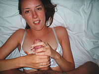 Teen oral & vaginal cock worship