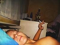 Smoking teens hardcore and lesbo group