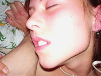 Teen in ecstasy from pussy and oral fuck
