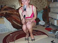 Aroused girl sucks and fucks the vib