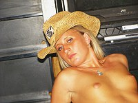 Sexy cowgirl works me like a toy
