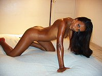 Amazing bronze skinned latina naked