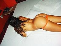 Fucking a young latina cunt