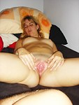 Blowjob lesson from my blonde GF