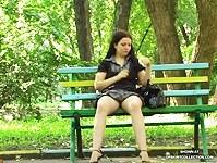 Voyeur hot street upskirt pics of Julia