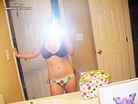 Lisa's first upskirt photoshoot