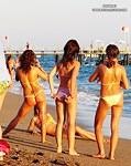 Tasty voyeur photos of hot bikini girls