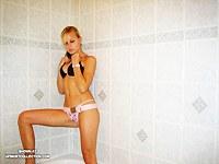 Sveta in wet clothes