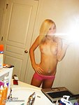 Selfshot in bathroom