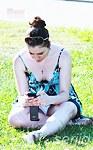 Amateur panties peeping upskirt