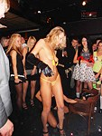 Nude show with upskirt elements