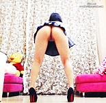 Hottest upskirt show on web cam