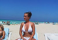 Hot tits on the beach
