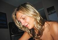 Hot blonde amateur & friends