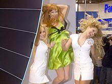 Sexy girls upskirts exhibition set 24