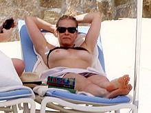Joanna krupa topless bikini