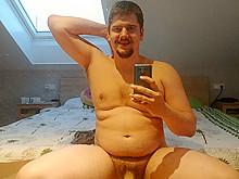 Marcel Sprenger exposed naked