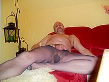 Nackt DW und Nylon