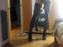 stockings show sexy